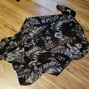 Accessories - Tropical print cover up
